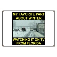 Watching It On TV In FLA Banner