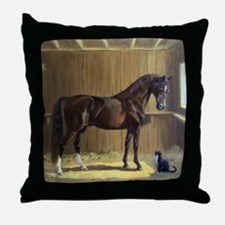 Marco and Sneaker Throw Pillow