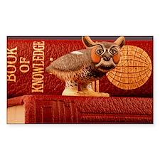 Erudite Owl Decal