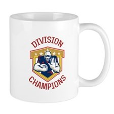 American Football Conference Finals Ball Mugs