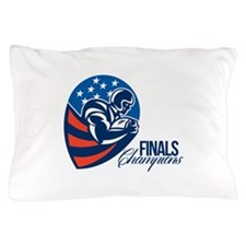 American Football Finals Champions Retro Pillow Ca