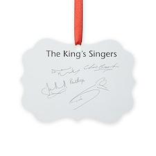 ks logos and sigs Ornament