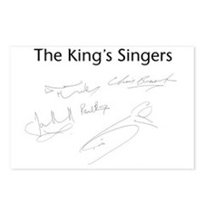 ks logos and sigs Postcards (Package of 8)