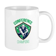 American Football Snap Conference Champions Mugs