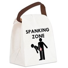 Spanking Zone Canvas Lunch Bag