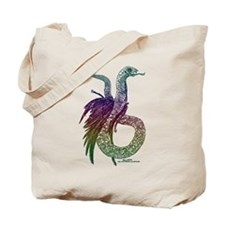 Plumed Serpent Colour Tote Bag