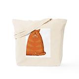 Ginger kitten Totes & Shopping Bags