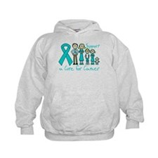 Gynecologic Cancer Support A Cure Hoodie