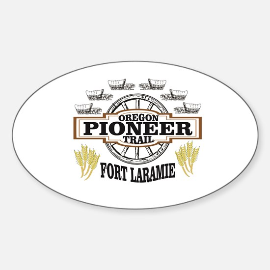 fort laramie pioneer arch Decal