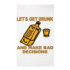 Make Bad Decisions 3'x5' Area Rug