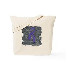 Cystic Fibrosis Fight Defy Win Tote Bag
