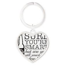 Sure... Heart Keychain