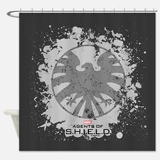 Agents of S.H.I.E.L.D. Shower Curtain