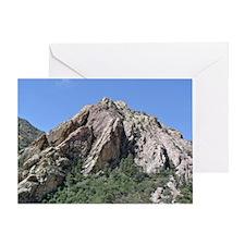 Mountains Summit Greeting Card