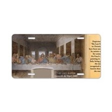 The Last Supper Historical Aluminum License Plate