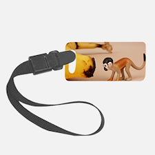 Squirrel Monkey Luggage Tag