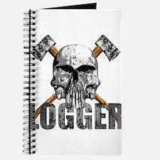 Logger Skull Journal