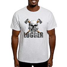 Logger Skull T-Shirt