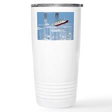 Titantic on Ice Travel Coffee Mug