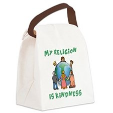 My Religion is Kindness - Dalai L Canvas Lunch Bag