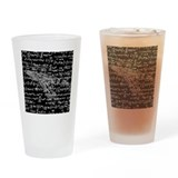 Math Pint Glasses