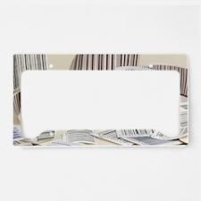Zebrew License Plate Holder