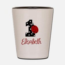 1 Ladybug ELISABETH - Custom Shot Glass