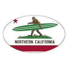 Northern California Bigfoot Decal
