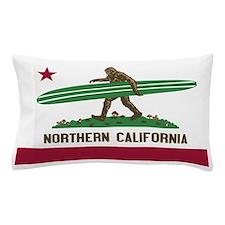 Northern California Bigfoot Pillow Case