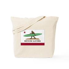 Northern California Bigfoot Tote Bag