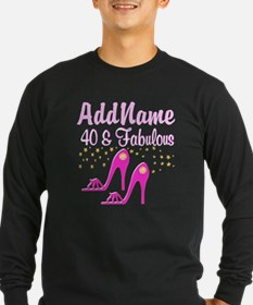 40TH PINK SHOES T