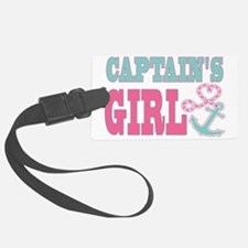 Captains Girl Boat Anchor and He Luggage Tag