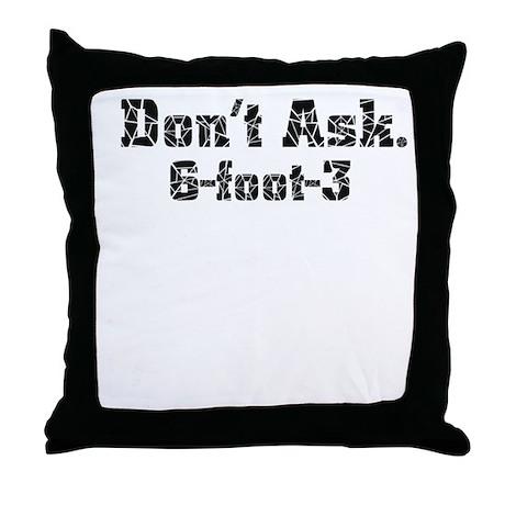 6-foot-3 Throw Pillow
