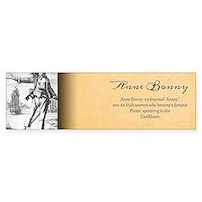Anne Bonny Historical Bumper Sticker