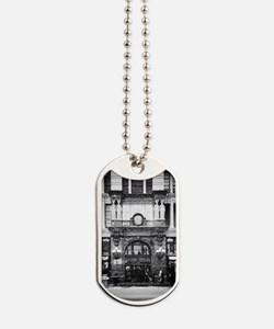 Snow storm in Manhattan Dog Tags