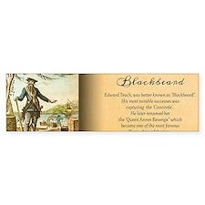 Balckbeard Historical Bumper Sticker