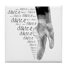 dance dance dance 2 Tile Coaster