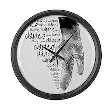 dance dance dance 2 Large Wall Clock