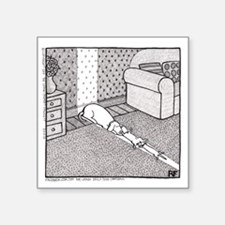 "The Sunbathers Square Sticker 3"" x 3"""