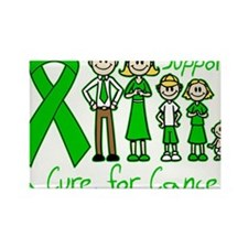 Bile Duct Cancer Support A Cure Rectangle Magnet