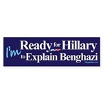 Ready for Hillary Sticker (Bumper)