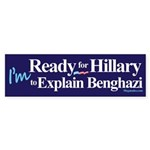 Ready for Hillary Sticker (Bumper 50 pk)