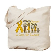 Appendix Cancer Support A Cure Tote Bag