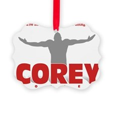 doing the COREY Ornament