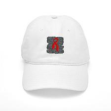 AIDS Fight Defy Win Baseball Cap
