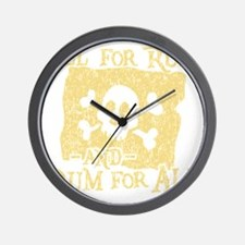 Rum For All Wall Clock