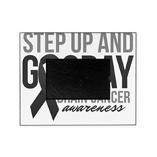 Step Up and Go Gray Picture Frame