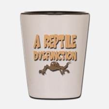 A Reptile Dysfunction Shot Glass