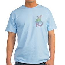 Rainbow Plumed Serpent T-Shirt