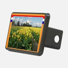 Holland Windmill and Tulip Hitch Cover